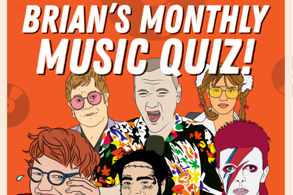 Brian's Monthly Music Quiz